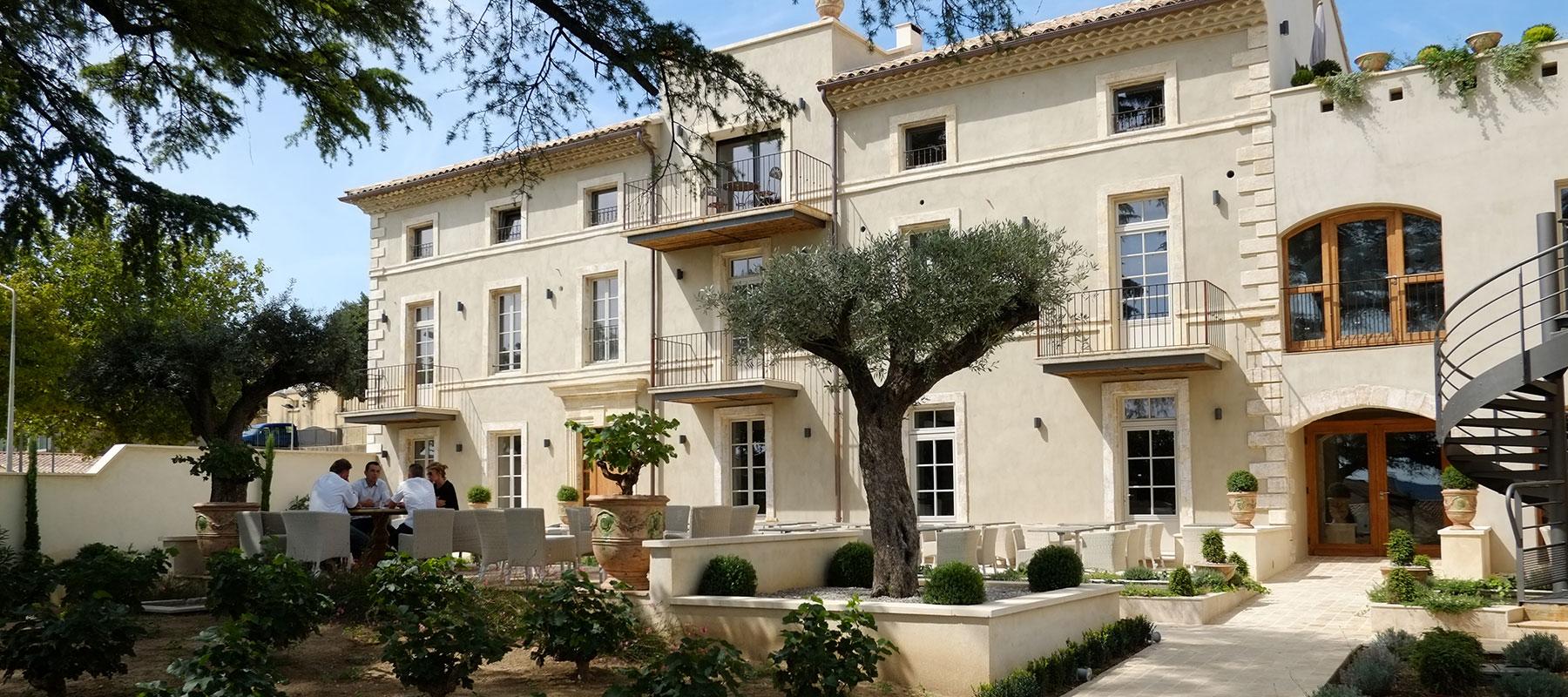 Villa Montesquieu Hotel Restaurant Spa A Laudun Dans Le Gard